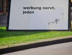 Werbung gegen Werbung