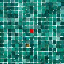 kleines Rotes im Quadrat