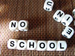 ...nie mehr schule