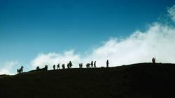 Exkursion zum Vulkan