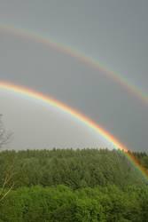 Regenbogen in Oberberg