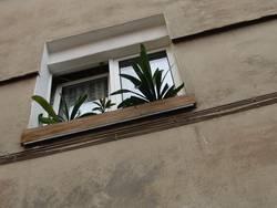 Fenster auf Kippe