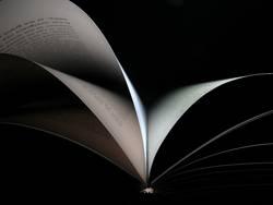 blätterndes Buch