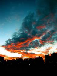 Himmel über Barcelona