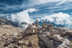 Zugspitze, Bayern, Alpen, Deutschland