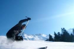 Skifahren mit Swusch