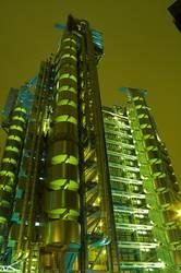 Lloyds Gebäude aus der Froschperspektive 2