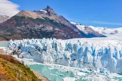 Side view of Perito Moreno Glacier, Argentina