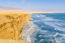 Paracas National Reserve on the Pacific coast of Peru