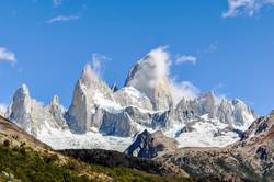 The Peaks of Fitz Roy mountain, Argentina