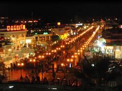 Nachtleben in Naama Bay