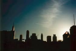 Abendstimmung in Chicago