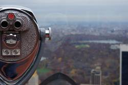 View over Central Park in New York - NYC USA