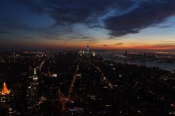 New York City / Manhatten Sonnenuntergang