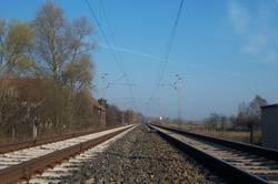 Zugstrecke bei Dehnsen
