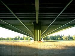 A4 über den Rhein in Köln