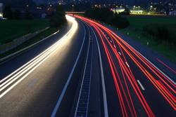 Autobahn A1 By Night