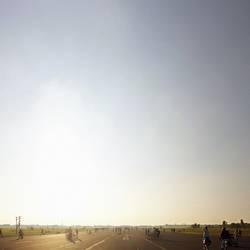 An einem Sonntag in Tempelhof