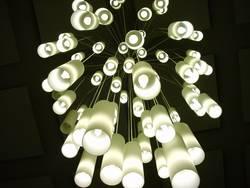 Fallendes Lichtermeer