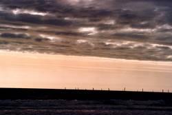 Himmel über der Nordsee