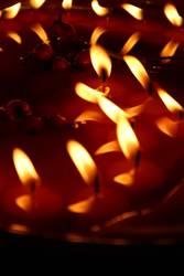 Kerzen Herz