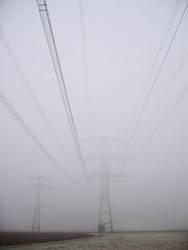 Strom im Nebel