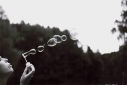 black&white beauty bubbles
