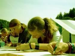 schreibende Teens