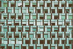 Business Building Windows Abstract Detail