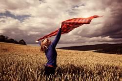 Im Wind tanzen lassen