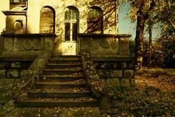 Villa R im Herbst