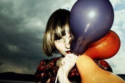 I herz Luftballons