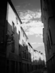 Französische Innenstadt