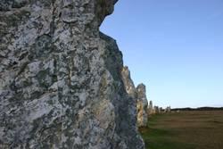 Menhir auf der Halbinsel Crozon