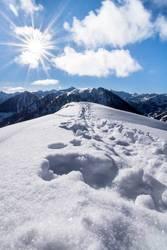 Abkühlung am Berg