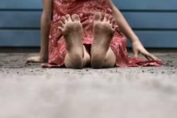 Sommer-Füße
