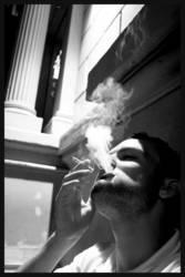 Graustufenrauch