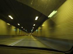 Tunnelblick in Hamburg