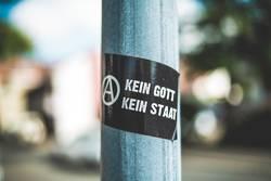 Sticker: Kein Gott - Kein Staat