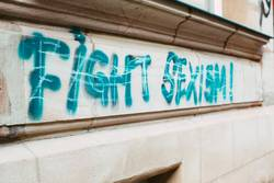 Fight Sexism! Graffiti