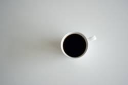 Kaffee schwarz ohne alles