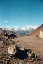 Grenzstation in den Anden