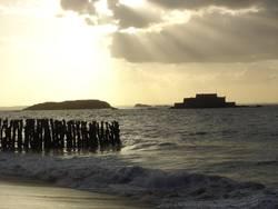 St.Malo und seine Burg