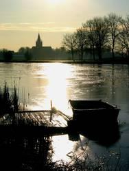 Vereiste Amstel bei Nes, Holland