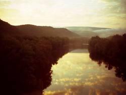 Potomac River in West Virginia