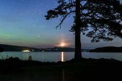 Nordlicht und Mondlicht