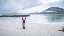 Strand. Freude. Norwegen.