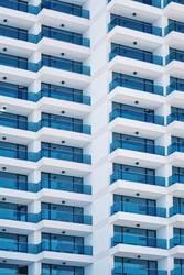 Hochhausfassade