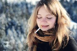 Zigarette.