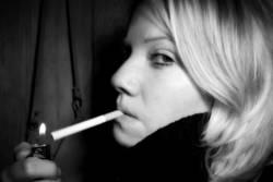 Beim Rauchen erwischt...